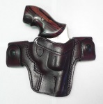 CS1154 - Alessi Right Hand Mahogany J Frame Belt Holster