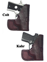CS1156 - Pocket Holster fits Kahr P380 or Colt Mustang 380 Can be used in Left or Right Pocket