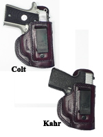 CS1158 - Alessi Right Hand Mahogany P380 / Mustang Inside-the-waistband Holster