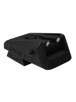 CS1410 - Novak 1911 Adj Lo Mount Carry Rear Sight with White Dots
