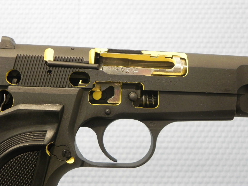7657 - Browning Hi-Power Cut Away Pistol