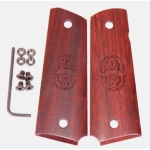 CS0379 - 1911C&S Thin Smooth Cocobolo Grips