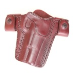"CS1172 - Alessi Right Hand Mahogany 5"" Belt Holster"