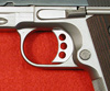 45009 - Long Aluminum 3 Hole Trigger with Serrations and Overtravel Stop Installed