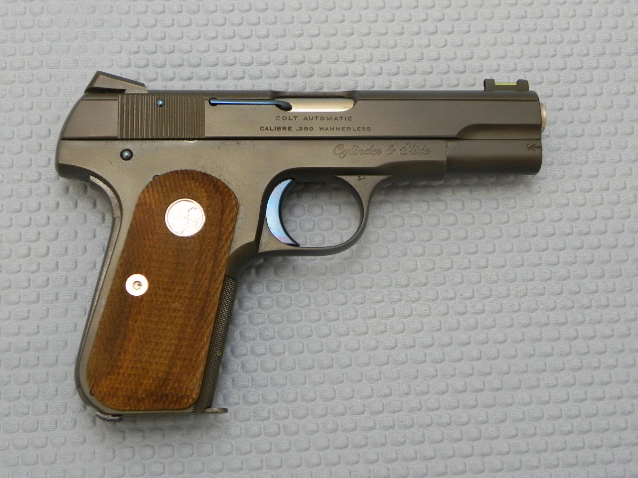 9068 - C&S Custom M1908 Hammerless in .380 ACP