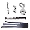 CS0219 - C&S 1911 Stainless Steel Tactical II 4lb. Trigger Pull Set - (5-Piece Set)