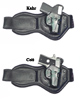 CS1170 - Alessi  Ankle Holster fits Kahr P380 or Colt Mustang 380 Can be worn on the Left or Right Ankle