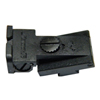 CS1910 - Champion Bo-Mar Style Rear Sight Round/ Full Serrated Blade