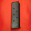 CS0244WBP - 1911 .45 OFFICER 6 RD MAGAZINE Single Stack with Bumper Pad Installed