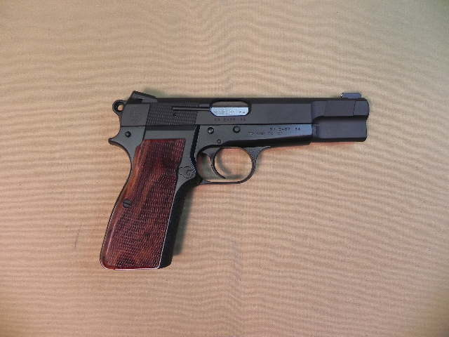 3784 - Light Weight Browning Hi-Power 9mm Grade 4