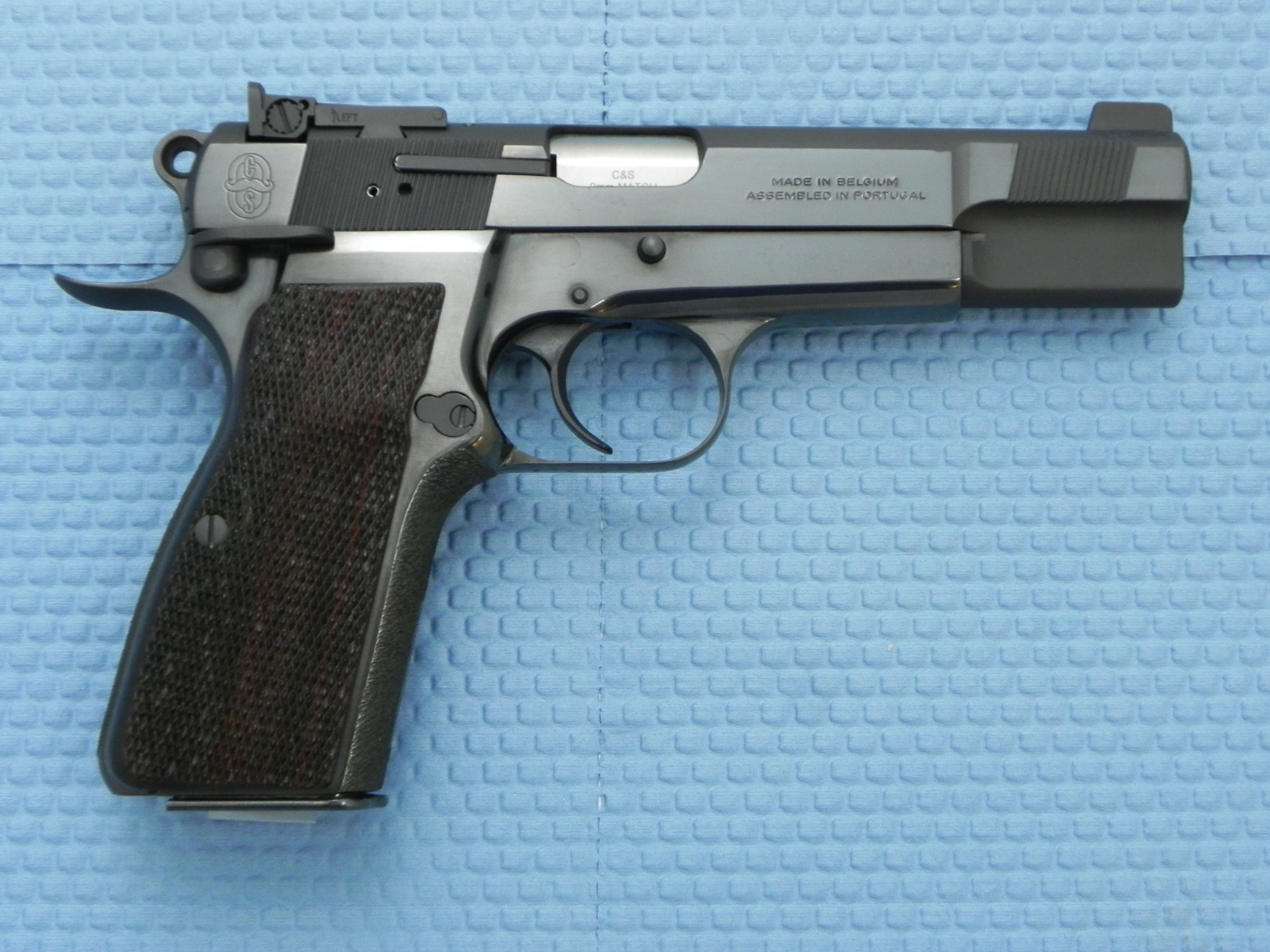 2490 - Shop Foremans Personal Custom Browning Hi-Power