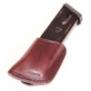 CS1165 - Alessi Left Hip Single Magazine Pouch BHP Mahogany