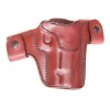 "CS1166 - Alessi Right Hand Mahogany BHP ""Pathfinder"" Short Slide Belt Holster"